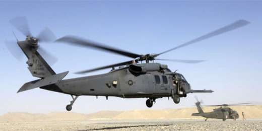 US heicopters transporting stolen gold from Syria