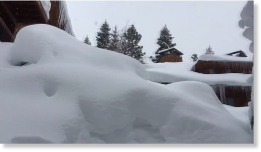 Sierra ski resorts get up to 9 feet of snow
