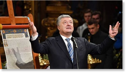 Ukrainian president and tomos