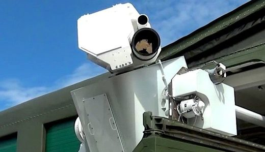 Peresvet laser weapon