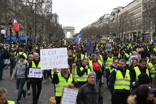 yellow vest 16 week