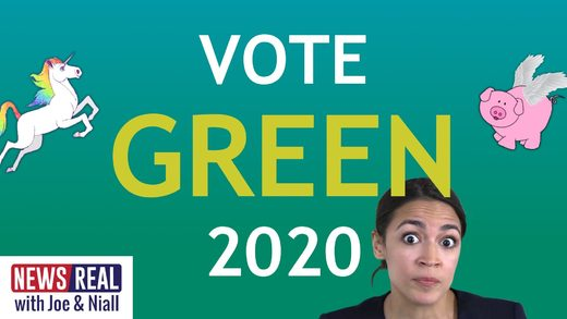 newsreal AOC green new deal