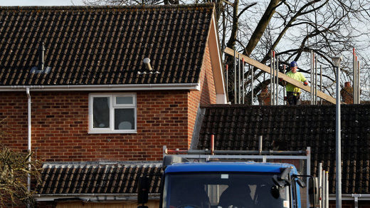 skripal house new roof