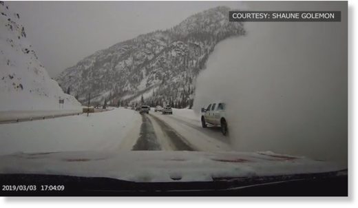 Family describes avalanche that shoved car across I-70