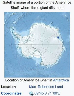 amery ice shelf antarctica