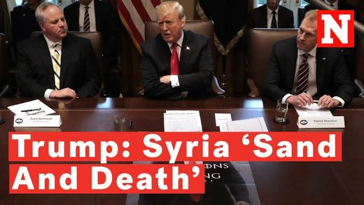 trump syria sand death