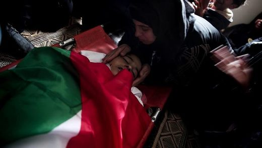 funeral palestinian child gaza
