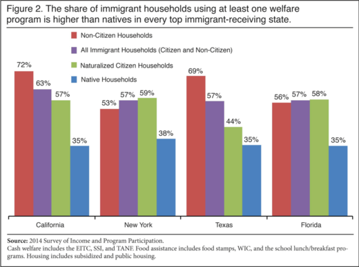 immigrant households