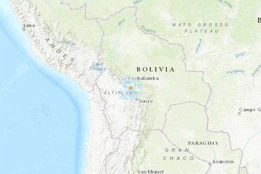 Bolivia earthquake