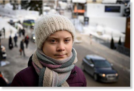 Environmental activist Greta Thunberg