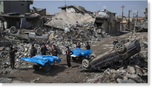 Mosul destroyed by USA