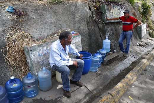 water shortage venezuela
