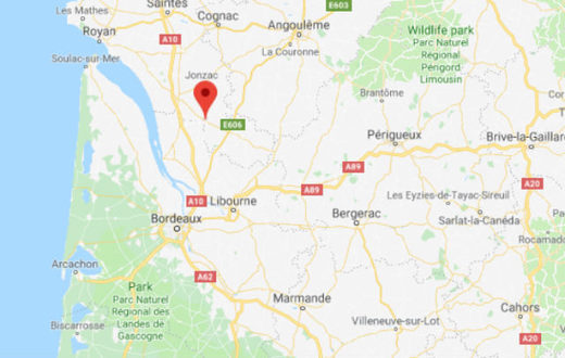 The epicentre of the earthquake was located 5 km from Montendre