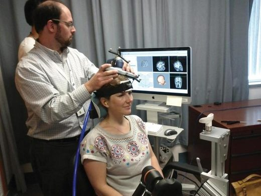Caroline Williams transcranial magnetic stimulation