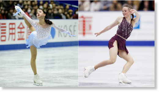 Lim Eun-soo and Mariah Bell