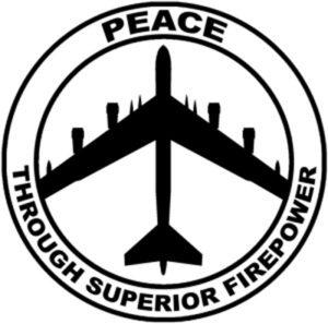 peace symbol military power