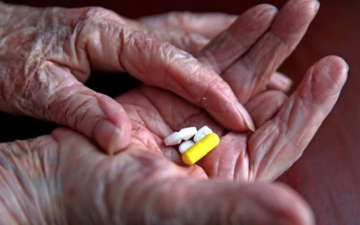 medication pills elderly