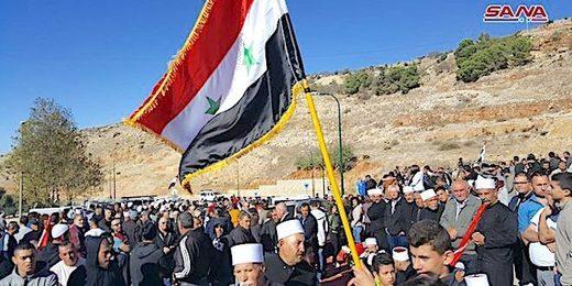 Syrians in Golan