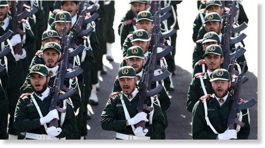 irgc troops