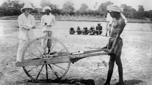 British colonial rule India