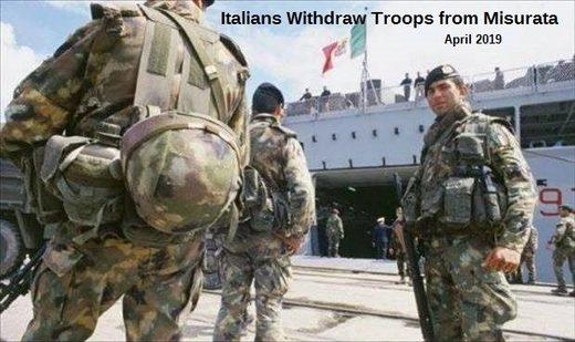 Taliansko vojakov líbya
