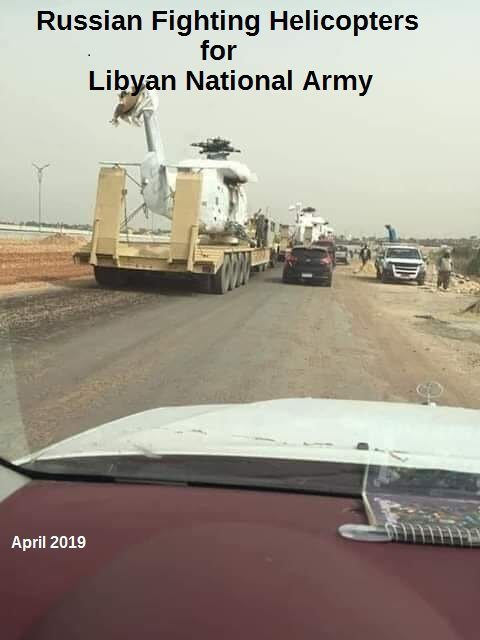 russian military weapons libya