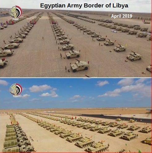 egyptskej armády libye tanky