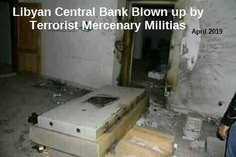 teroristov líbyjskej banky