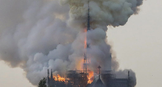 Paris' Legendary Notre Dame Cathedral Destroyed by Fire