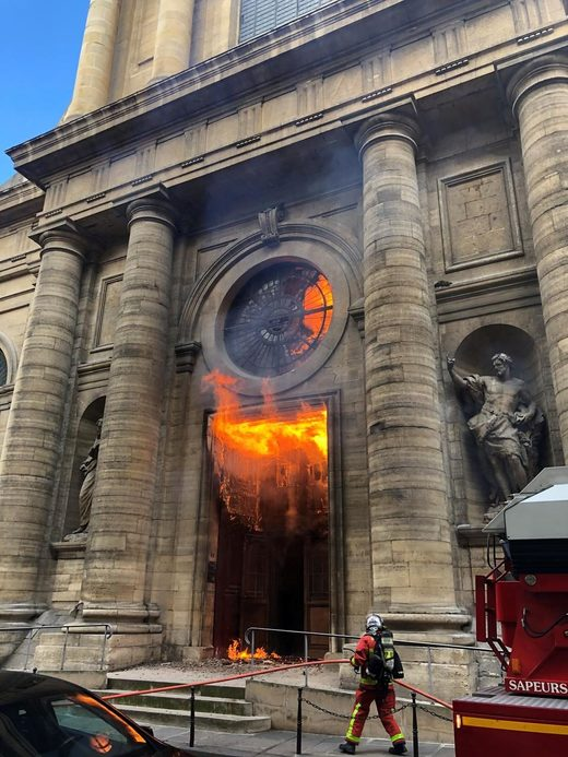 st sulpice fire