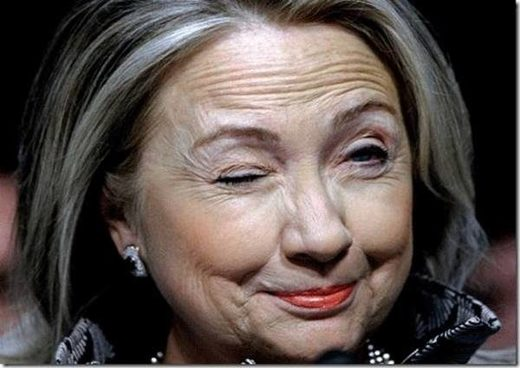 hillary wink creepy