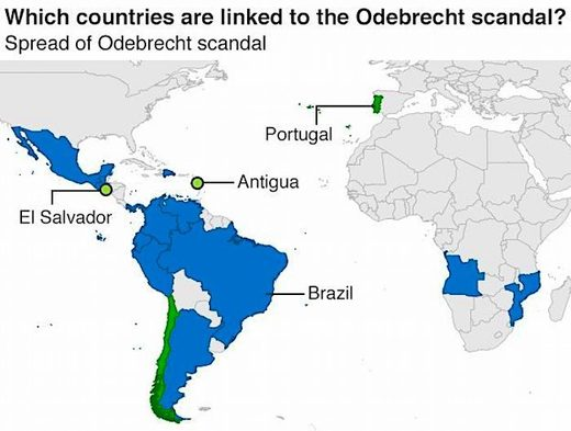 Map Odebrecht