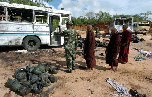 sri lankan bombings  2006