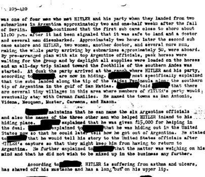 FBI documents Adolf Hitler