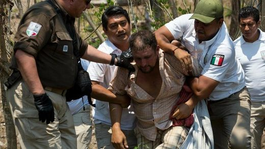 migrant detained mexico