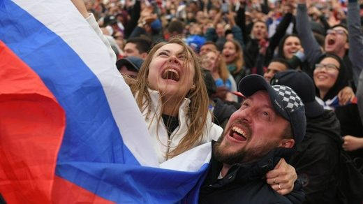 Happiness poll Russia