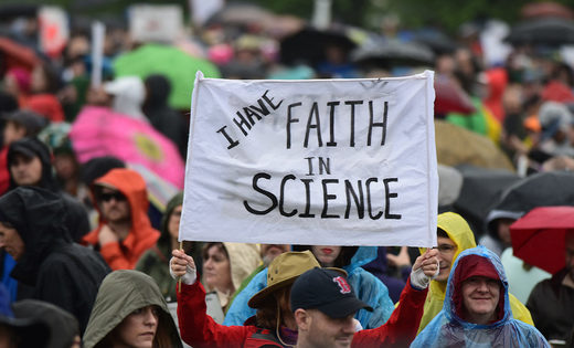 faith in science sign