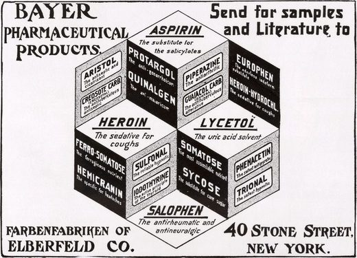old bayer advertisement