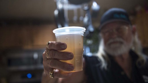 California tap water contamination