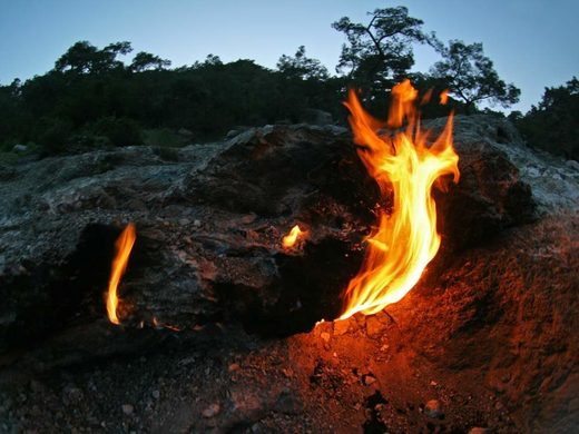 The Flames of Chimaera in Turkey