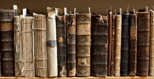 old books and manuscripts