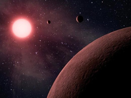 Planetary system, exoplanets