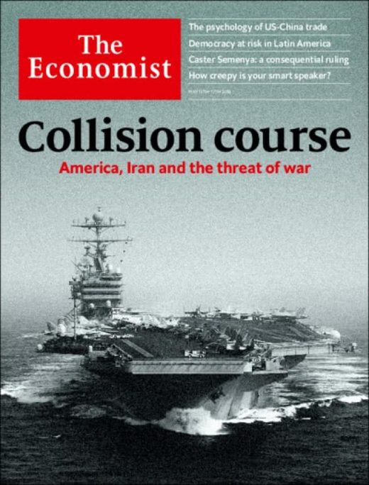 The Economist on US-Iran Collision course