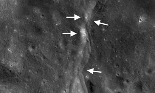 moon crust quake