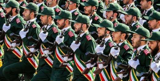 iranian soldiers