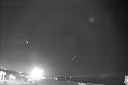 Fireball over Switzerland, Austria, Slovenia, Germany, Italy and France