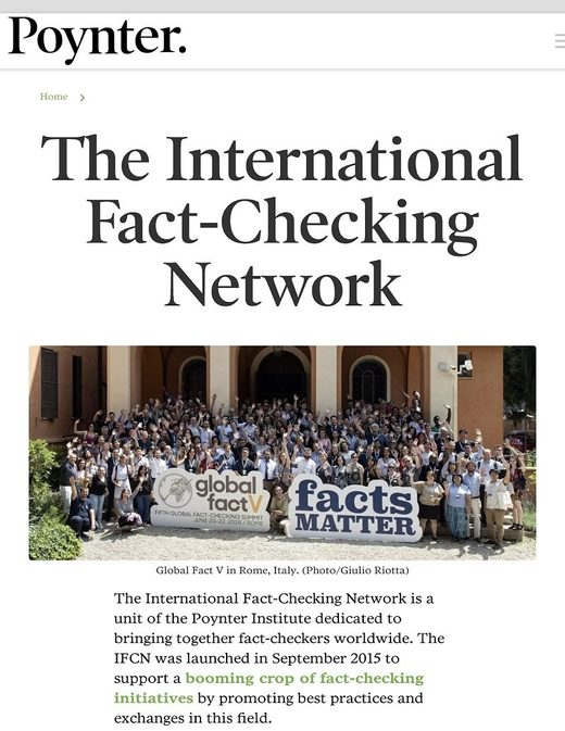 fact checking network