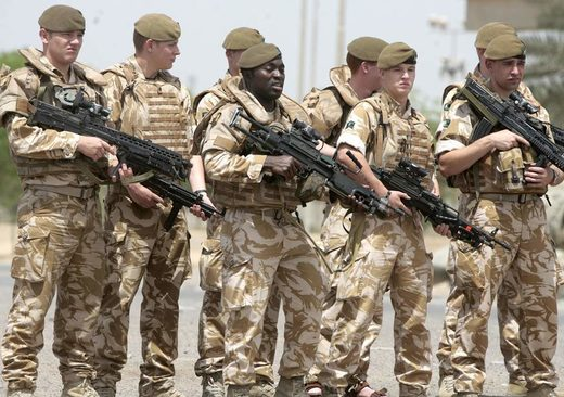 UK British soldiers Iraq