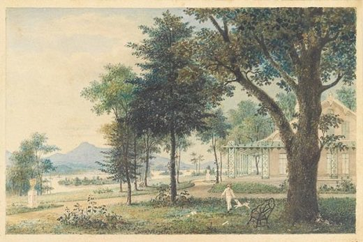 Hudson River domestic landscape