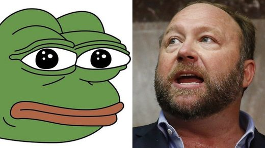 Pepe the Frog & Alex Jones